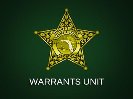 WARRANTS UNIT – Escambia County Sheriff's Office