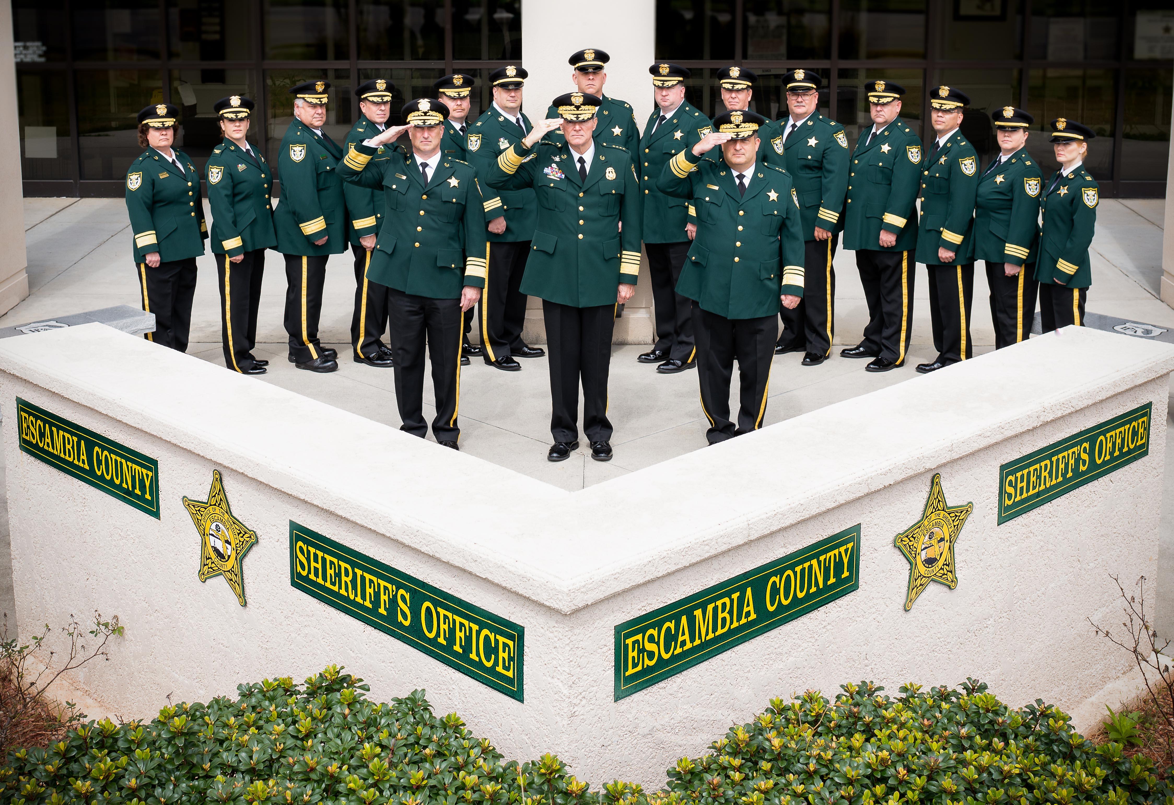 ECSO Command Staff
