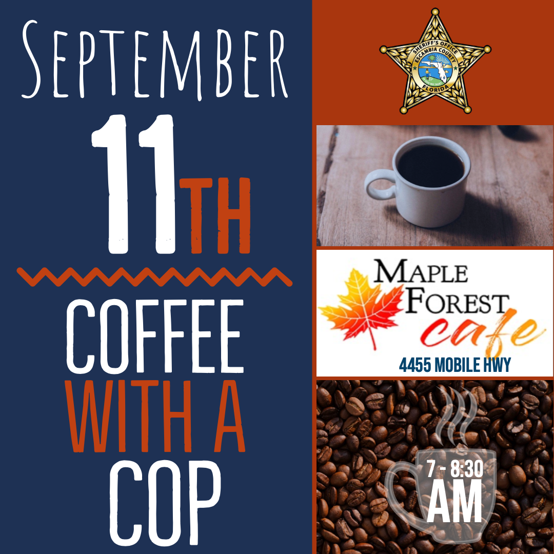 Coffee with a Cop September 11th