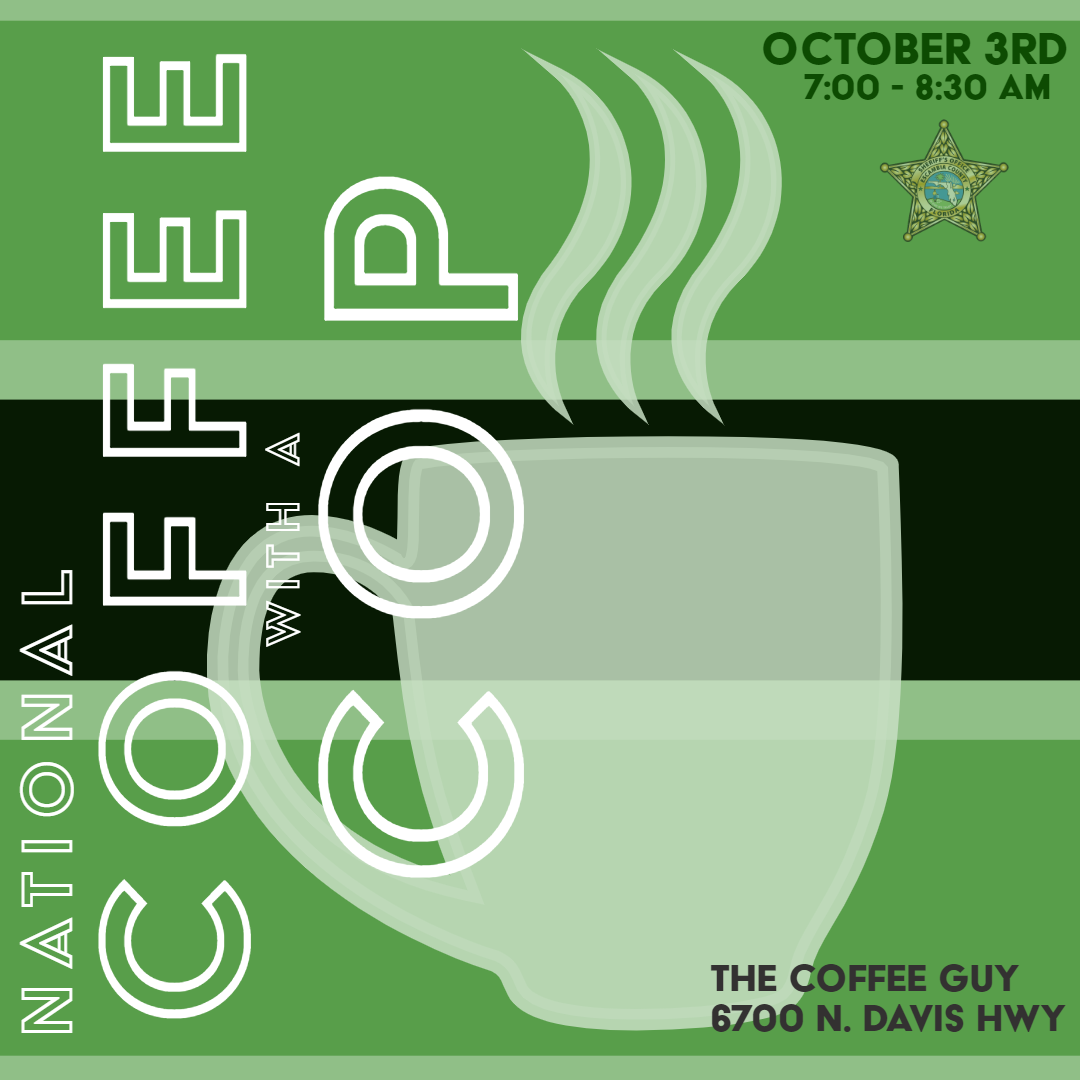 National Coffee with a Cop October 3rd